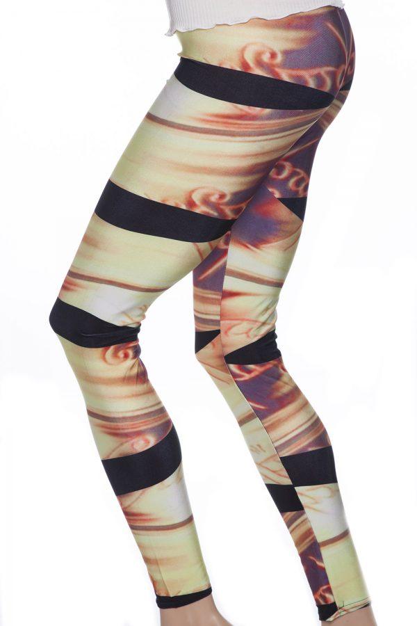 Snygga mönstrade leggings tights webshop