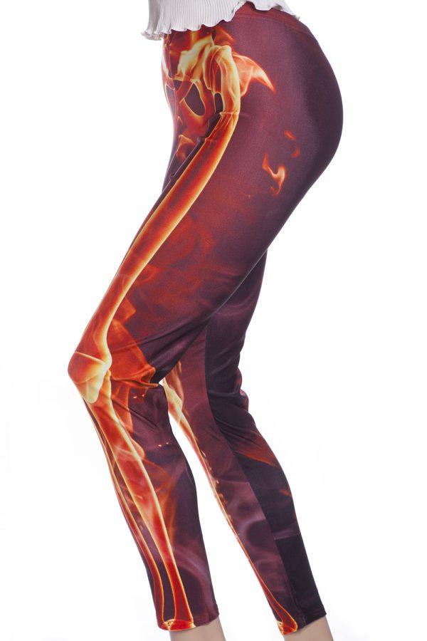 Skelett eld tights leggings webshop online sverige