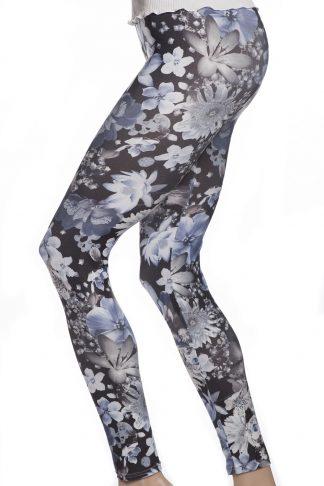 Blommiga tights och leggings