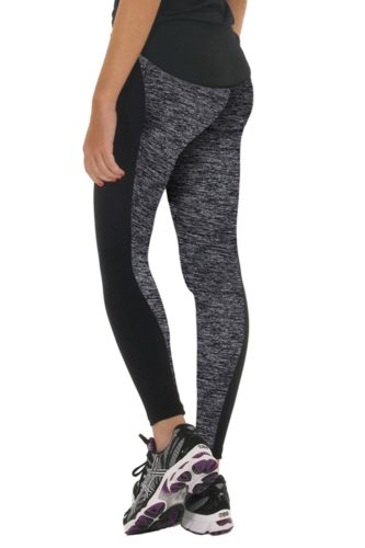 Black and Grey Sport Leggings