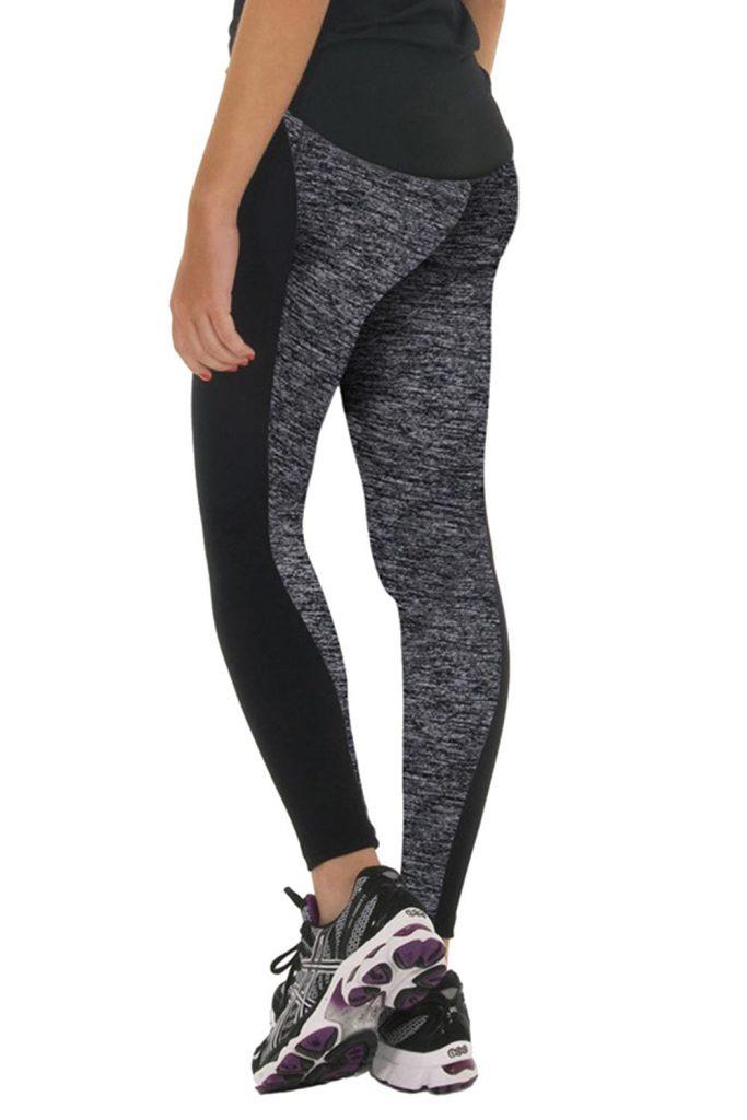 Black and Grey Sport Leggings