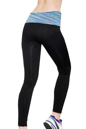 Blue Crush Belt Fitness Leggings
