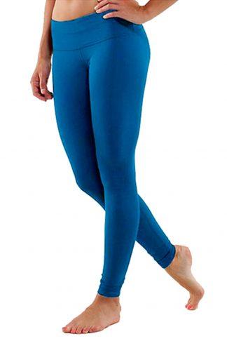 Blue Yoga Leggings