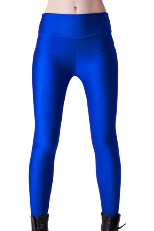 Blå Yoga Leggings på LeggingStore.se!