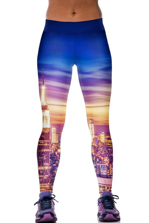 City Skyline Sport Leggings