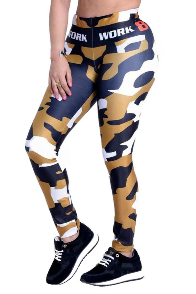 Golden Army Sport Leggings