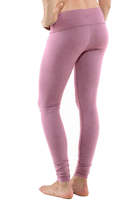 Pink Yoga Leggings Leggings Och Tights For Sport Och Yoga