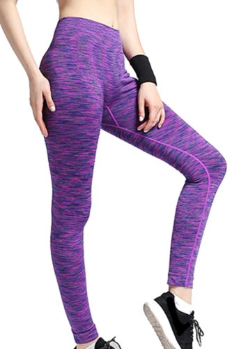 Purple Crush Fitness Leggings