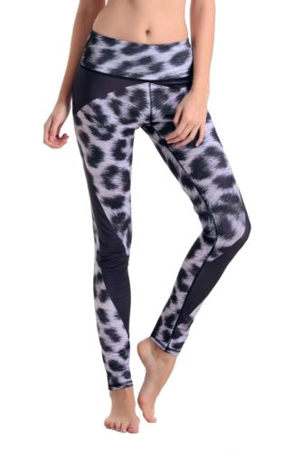 Purple Leopard Fitness Leggings