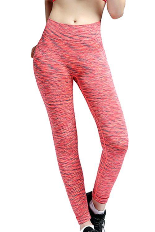 Red Crush Fitness Leggings