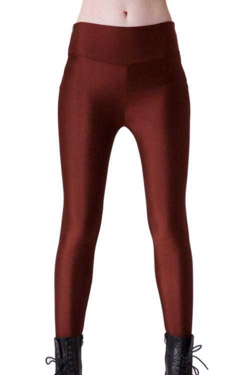 Bruna Yoga Leggings i skönt stretchmaterial!