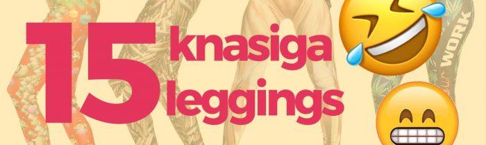 15 av våra mest knasiga leggings du bara måste se