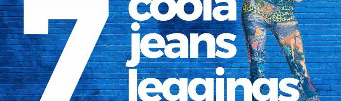 7 coola jeansleggings i olika stilar