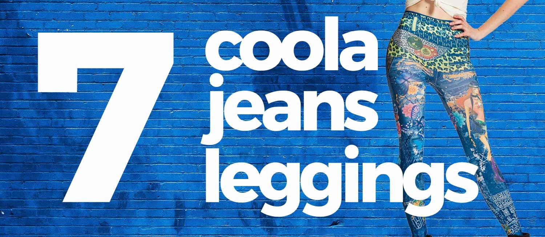 """30bd91bcfd16 Jeansleggings eller """"jeggings"""" är en av våra allra mest populära kategorier  i butiken. Dags att kombinera det bästa från två världar – jeans och  leggings!"""