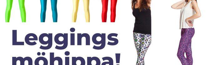 Beställ leggings till möhippan – och fixa temat!
